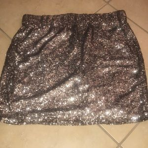 Lovers & Friends sequin skirt